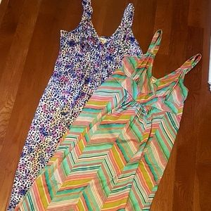 Set of 2 Long Dresses